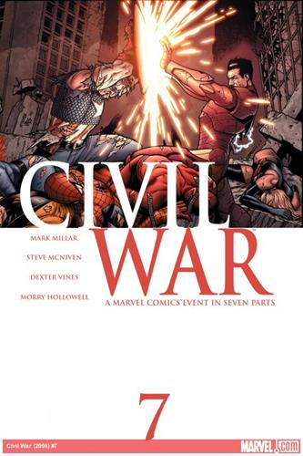 Marvel Comics Civil War (2006 - 2007) Civil War (2006) #7