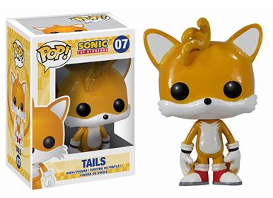 Funko Pop! Games Tails Stock