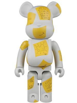 Be@rbrick Misc Post-it Thoughts Bear 1000% Icon