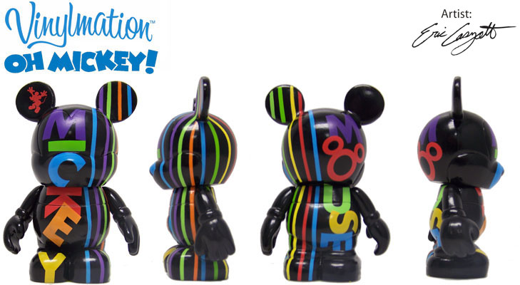 Vinylmation Open And Misc Oh Mickey! Black
