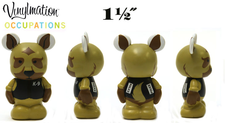 Vinylmation Open And Misc Occupations Jr. Police Dog