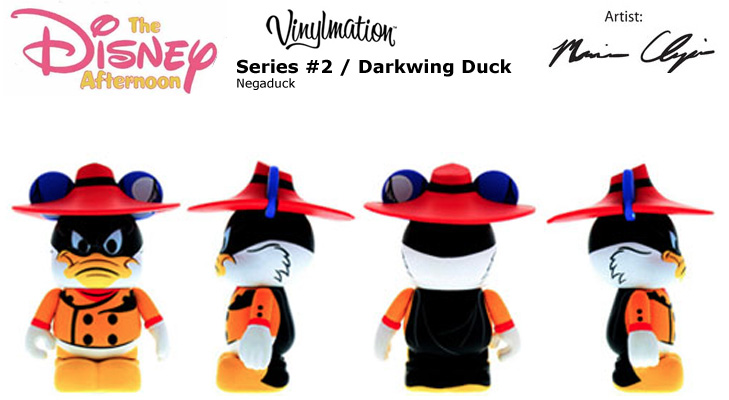 Vinylmation Open And Misc Disney Afternoon 2 Negaduck
