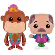 Funko Pop! Animation Magilla Gorilla and Mr. Peebles (Neon)