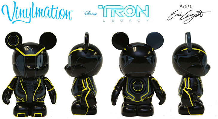 Vinylmation Open And Misc Tron Clu