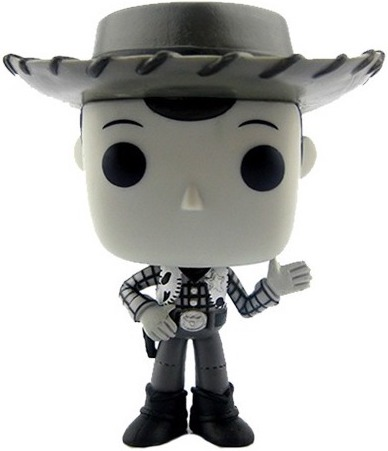 Funko Pop! Disney Woody (B&W)