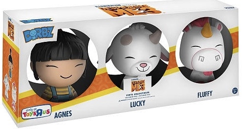 Dorbz Movies Despicable Me (3-Pack) Stock