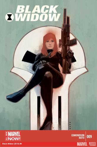 Marvel Comics Black Widow (2014 - Present) Black Widow (2014) #9 Icon