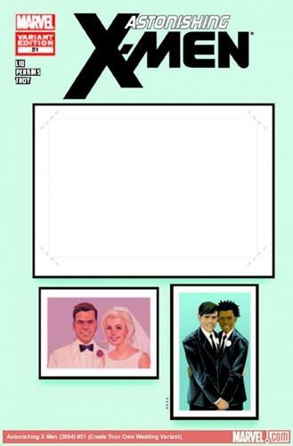 Marvel Comics Astonishing X-Men (2004 - 2013) Astonishing X-Men (2004) #51 (Create Your Own Wedding Variant)