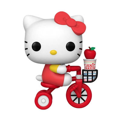 Funko Pop! Sanrio Hello Kitty (Riding Bike with Noodle Cup)