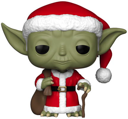 Funko Pop! Star Wars Yoda (Santa)