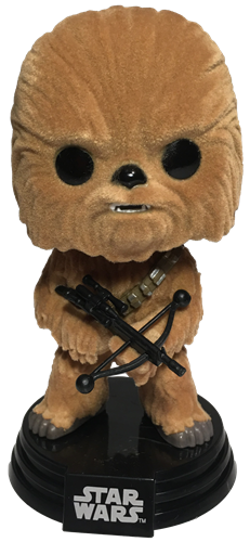 Funko Pop! Star Wars Chewbacca (The Force Awakens) - Flocked