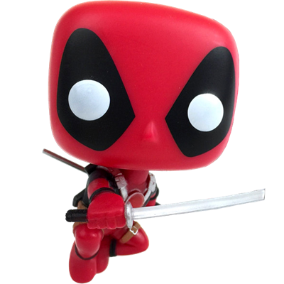 Funko Pop! Marvel Deadpool (Leaping)