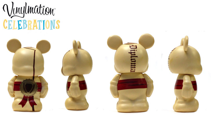 Vinylmation Open And Misc Celebrations Jr Diploma