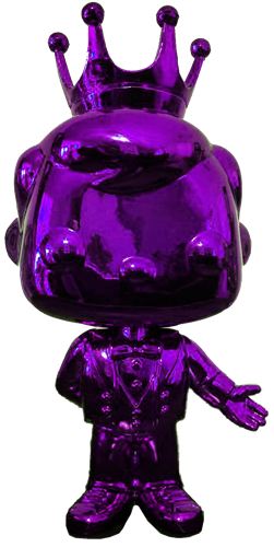 Funko Pop! Freddy Funko Tuxedo Freddy (Chrome-Purple)