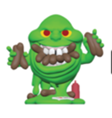Mystery Minis Ghostbusters Slimer Eating Hot Dogs