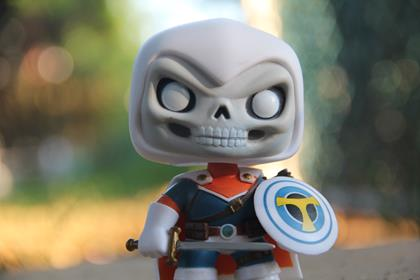 Funko Pop! Marvel Taskmaster funkophotographer on instagram.com