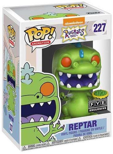 Funko Pop! Animation Reptar (w/ Cereal Bowl) Stock