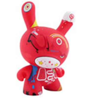 "Kid Robot 8"" Dunnys Doma (Red)"