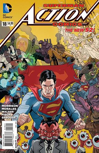 DC Comics Action Comics (2011 - 2016) Action Comics (2011) #18D Icon