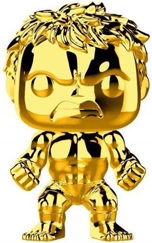 Funko Pop! Marvel Hulk (Gold Chrome)