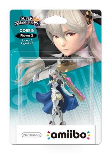 Amiibo Super Smash Bros. Corrin - Player 2 Stock