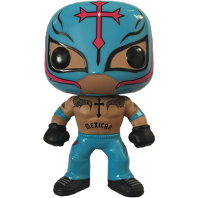 Funko Pop! WWE Rey Mysterio (Light Blue)