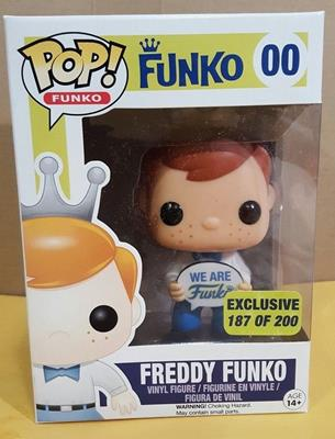 Funko Pop! Freddy Funko Freddy Funko (Funko 2015 Employee Christmas Party) Stock