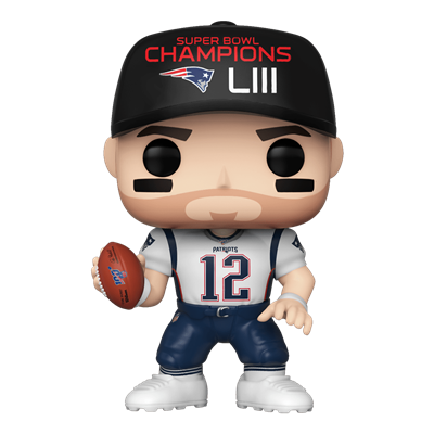 Funko Pop! Football Tom Brady (White Jersey)