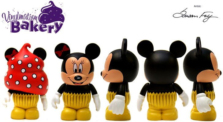 Vinylmation Open And Misc Bakery Minnie Cupcake