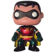 Funko Pop! Heroes Robin (Bobble Head) (Metallic)
