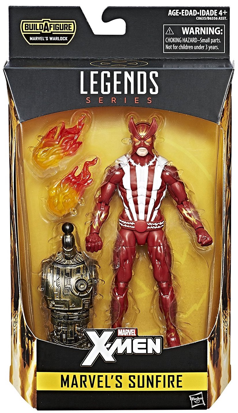 Marvel Legends Warlock Series Sunfire Icon