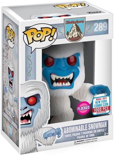 Funko Pop! Disney Abominable Snowman (Flocked) Stock