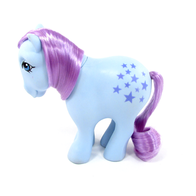 My Little Pony Year 01 Blue Belle - Concave Hoof Icon