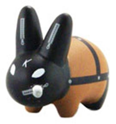 Kid Robot Labbit Packs Lil Gimp: Black Icon