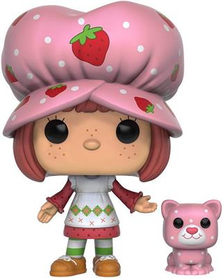 Funko Pop! Animation Strawberry Shortcake & Custard (Scented) Icon