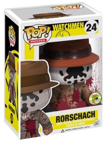 Funko Pop! Movies Rorschach (Bloody) Stock