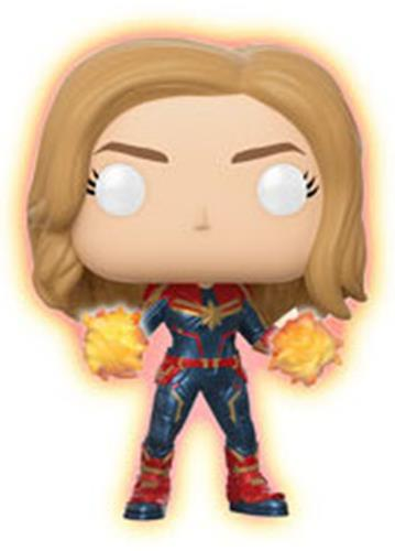 Funko Pop! Marvel Captain Marvel (Glow) Icon