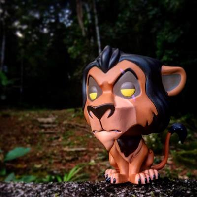 Funko Pop! Disney Scar justonemorepop on instagram.com