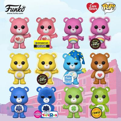 Funko Pop! Animation Grumpy Bear (Flocked)