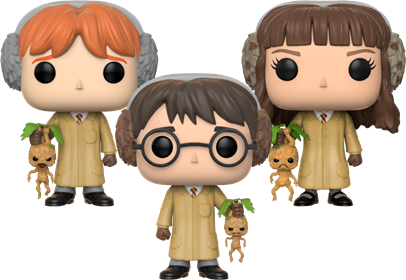 Funko Pop! Harry Potter Herbology (3-Pack) Icon