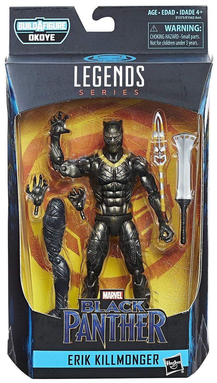 Marvel Legends Okoye Erik Killmonger