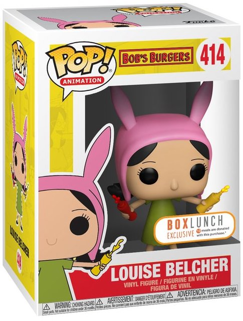 Funko Pop! Animation Louise Belcher Stock Thumb