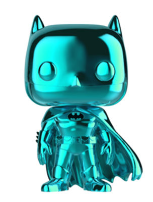 Funko Pop! Heroes Batman (Teal Chrome)