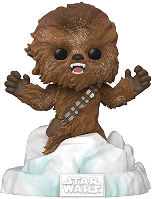 Funko Pop! Star Wars Battle at Echo Base Chewbacca (Flocked)