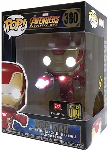 Funko Pop! Marvel Iron Man (Light Up) Stock