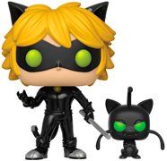 Funko Pop! Animation Cat Noir (w/ Plagg)
