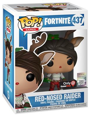 Funko Pop! Games Red-Nosed Raider Stock
