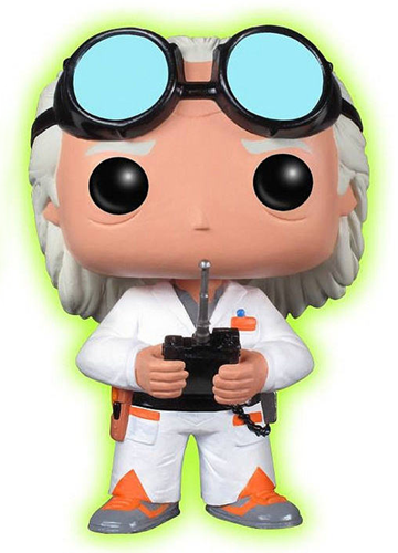Funko Pop! Movies Dr. Emmett Brown (Glow) Icon