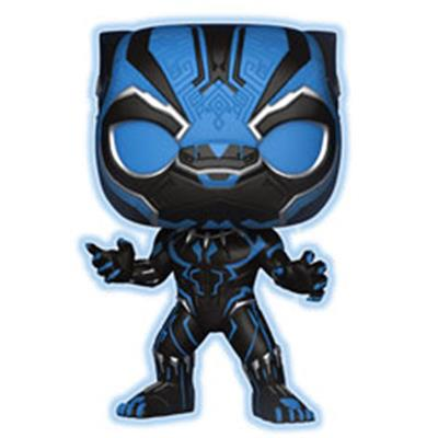 Funko Pop! Marvel Black Panther (Glow) - Blue