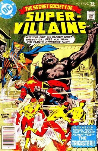 DC Comics Secret Society of Super-Villains (1976 - 1978) Secret Society of Super-Villains (1976) #8 Stock